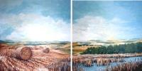 Twin Alberta Landscape 8